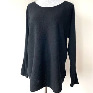 Vince Black Cashmere Sweater Tunic